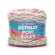 Go to Product: Bernat Pop! Bulky Yarn in color Faded Red