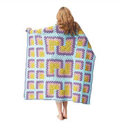 Go to Product: Bernat Mitered Granny Square Throw in color