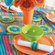 Bernat Striped Table Setting, Placemats - Set of 2