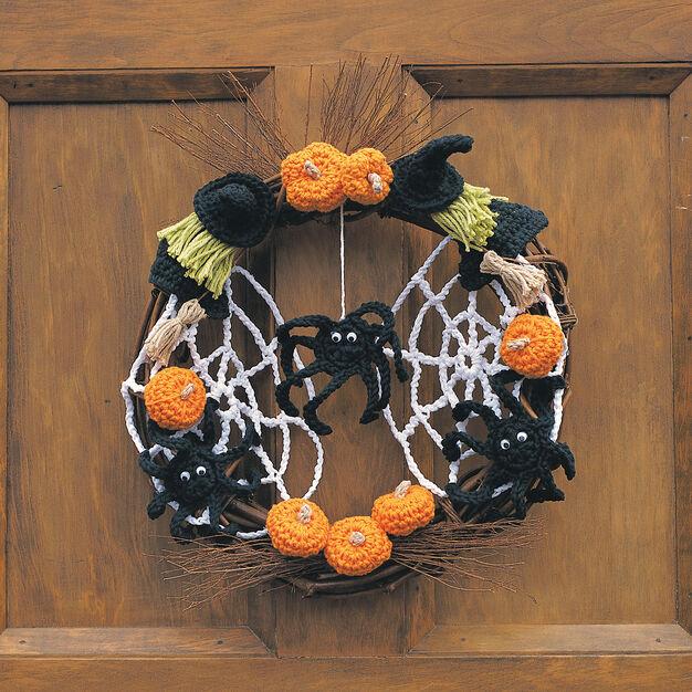 Lily Sugar'n Cream Trick or Treat Wreath