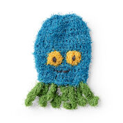 Go to Product: Red Heart Octopus Crochet Scrubby Mitt in color