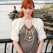 Go to Product: Red Heart Diva Shimmer Shrug, S in color