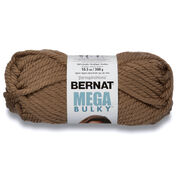Bernat Mega Bulky Yarn (300g/10.5 oz), Toasty Gray
