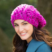 Go to Product: Red Heart Eyelet Rib Slouchy Hat in color