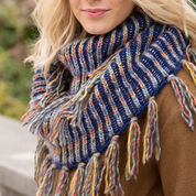 Go to Product: Red Heart Horizon Brioche Cowl in color