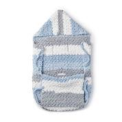 Bernat Crochet Stroller Blanket