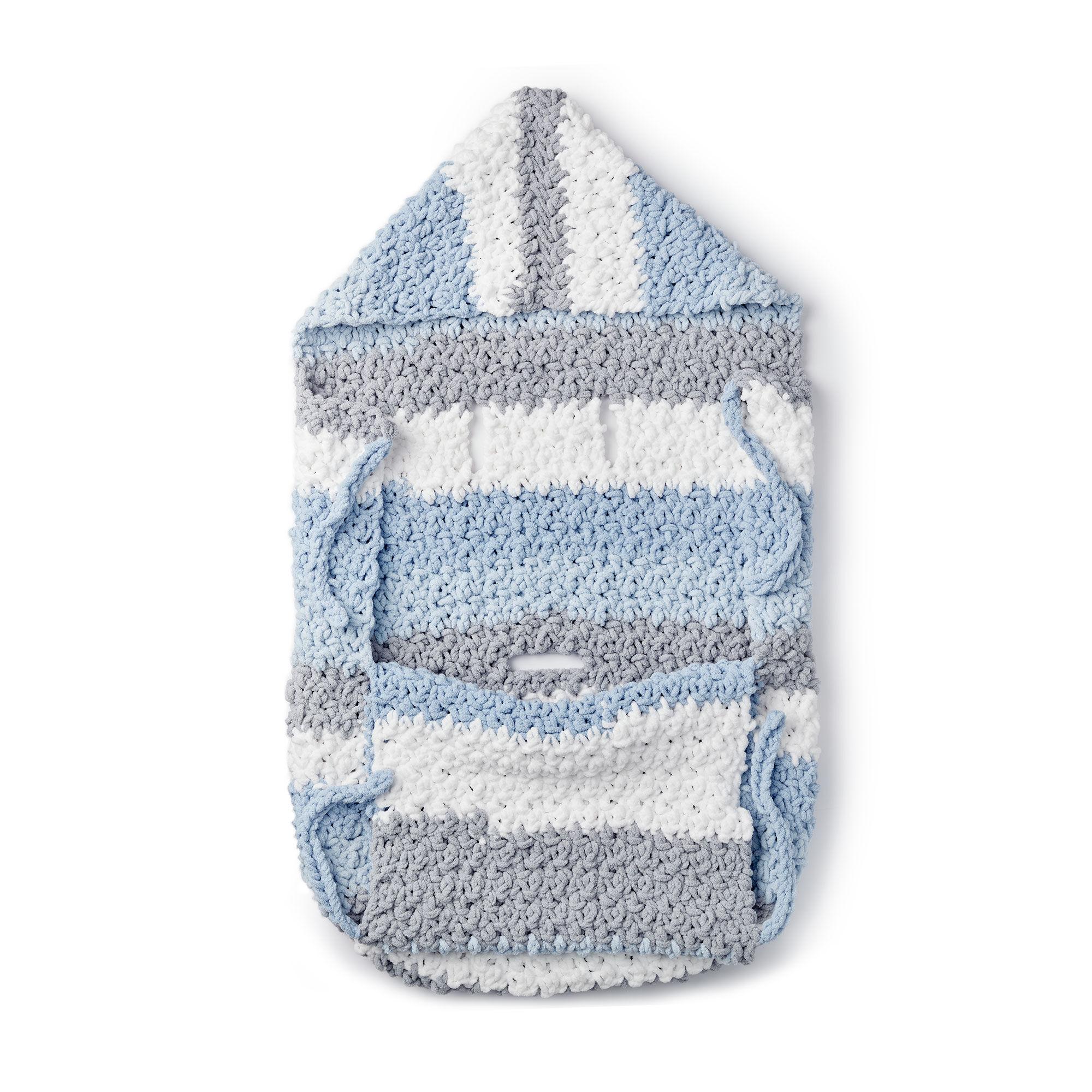 Free Crochet Stroller Blanket Pattern