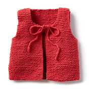 Go to Product: Bernat Wee Knit Vest, 6 mos in color