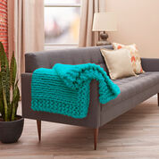 Go to Product: Red Heart Cool Comforts Knit Throw in color