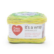 Red Heart It's a Wrap Sprinkles Yarn, Confetti
