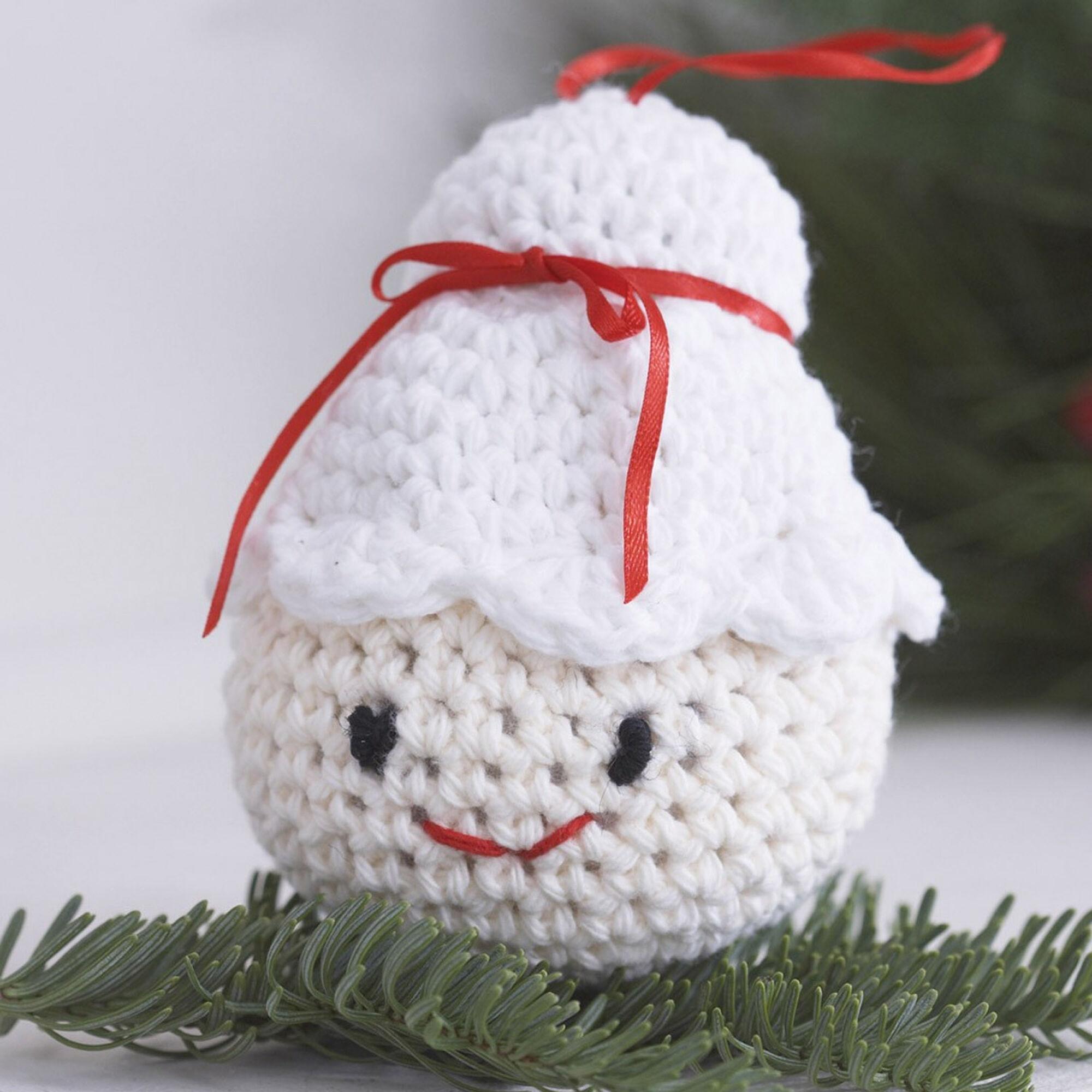Lily Sugar\'n Cream Amigurumi Ornaments, Santa | Yarnspirations