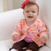 Go to Product: Red Heart Easy Knit Baby-to-Toddler Cardi, 12 mos in color