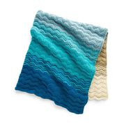 Go to Product: Caron Seaside Sunset Knit Blanket in color