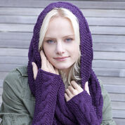 Go to Product: Red Heart Infinity Trinity Cowl and Wristers in color