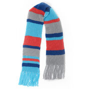 Red Heart Fisherman Rib Big Scarf