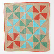 Caron Country Quilt Baby Blanket