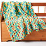 Bernat Bright Beginnings Crochet Blanket