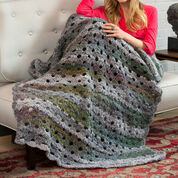 Go to Product: Red Heart Shaded Greys Throw, Steller 5oz in color