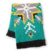Go to Product: Bernat Geo Folk C2C Crochet Afghan in color
