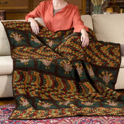 Go to Product: Red Heart Turkey Talk Throw in color