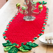 Go to Product: Red Heart Holly Trim Table Runner in color