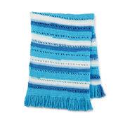 Bernat Soft and Breezy Crochet Blanket