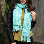 Go to Product: Red Heart Basketweave Scarf in color