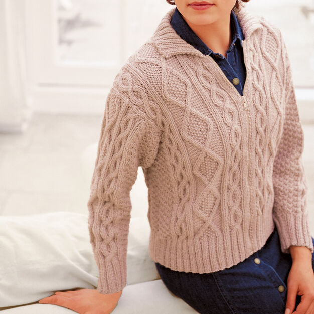 Patons Cabled Jacket, S