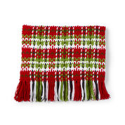 Caron Plaid Christmas Blanket