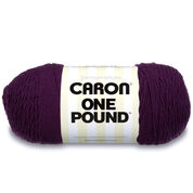 Go to Product: Caron One Pound Yarn in color Deep Violet