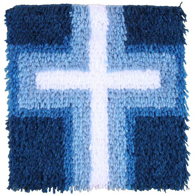 Wonderart Cross Of Light 12 X 12 in color
