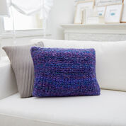Red Heart Simple Knit Pillow