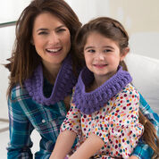 Go to Product: Red Heart Just Like Mom Cowl, Toddler in color