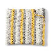 Bernat Knit Patchwork Blanket