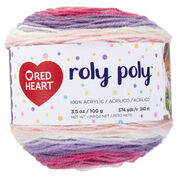 Go to Product: Red Heart Roly Poly Yarn, Sweet Pea in color Sweet Pea