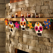 Go to Product: Red Heart Sugar Skull Garland in color