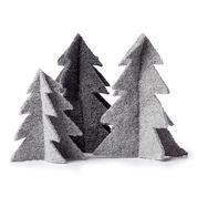 Patons Felt Knit Tree Ornaments