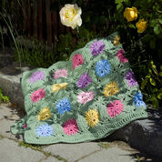 Go to Product: Red Heart Crochet Flower Field Blanket in color