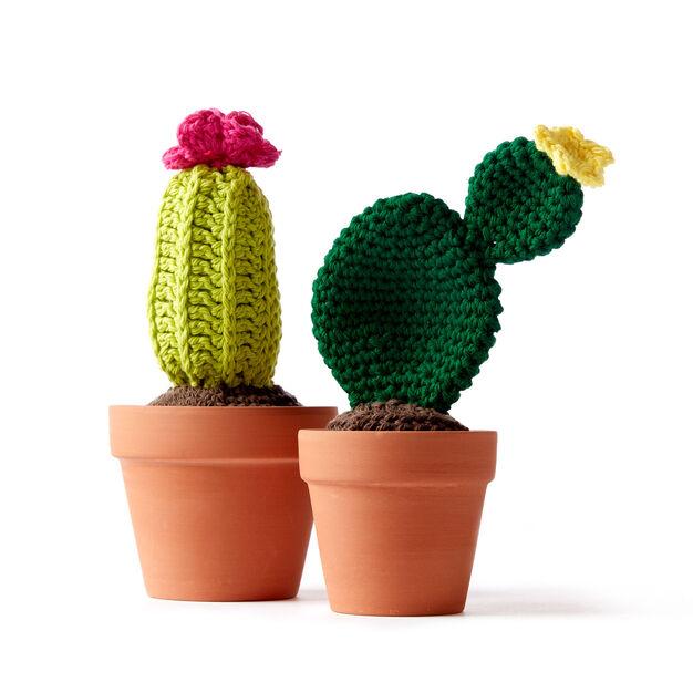 Lily Sugar'n Cream Crochet Cacti Version 60 Yarnspirations Unique Crochet Cactus Free Pattern