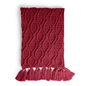 Go to Product: Caron Crochet Cables Blanket in color