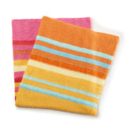 Bernat Fading Stripes Knit Baby Blanket