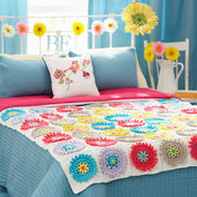 Go to Product: Bernat Colorful Cogs Afghan & Pillow Set, Afghan in color