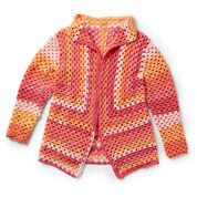 Go to Product: Caron Directional Granny Cardigan, XS/S in color