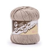 Go to Product: Lily Sugar'n Cream Super Size Yarn in color Jute