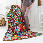 Go to Product: Red Heart Granny's Classic Throw in color