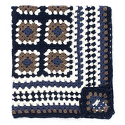 Bernat Framed Crochet Granny Throw