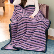 Red Heart Cozy Home Throw