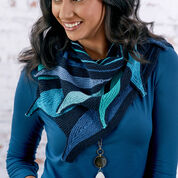 Go to Product: Red Heart Dramatically Stunning Leaves Shawl in color