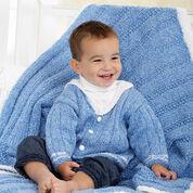 Bernat Middy Jacket and Blanket, Blanket