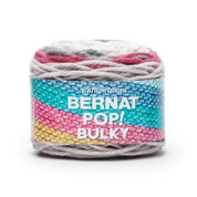 Bernat Pop! Bulky Yarn, Poppy Gray